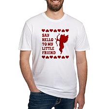 Heart Cupid Little Friend Valentine Shirt