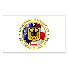 German-American Decal