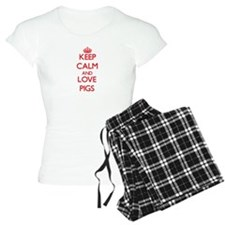 Keep calm and love Pigs Pajamas