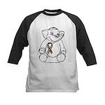 Autism Elephant Kids Baseball Jersey