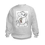 Autism Elephant Kids Sweatshirt