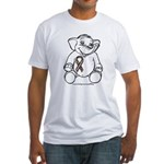 Autism Elephant Fitted T-Shirt