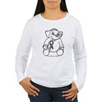 Autism Elephant Women's Long Sleeve T-Shirt