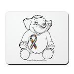 Autism Elephant Mousepad