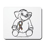 Autism Elephant Mousepad