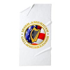 Irish-American Beach Towel