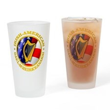 Irish-American Drinking Glass