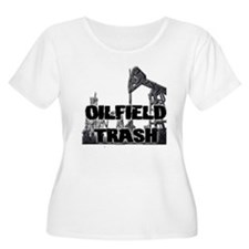 Oilfield Trash Diamond Plate Plus Size T-Shirt