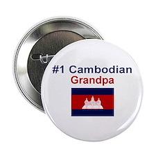 """#1 Cambodian Grandpa 2.25"""" Button"""