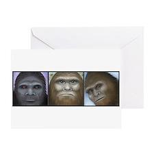 Bigfoot Collage Greeting Card
