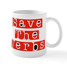 Save The Verbs Mug
