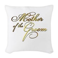 Mother of the Groom Woven Throw Pillow