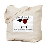 Natural Hooker Tote Bag