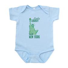 Lady LIBERTY NEW YORK Body Suit