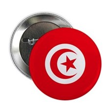 Tunisia Flag 2.25&Quot; Button