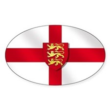 England Three Lions Flag Decal