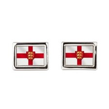England Three Lions Flag Cufflinks