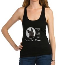Scottie Mom Racerback Tank Top