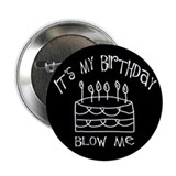 Birthday blow me Button