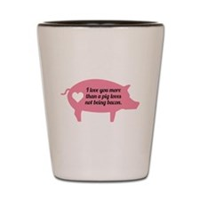 Pig Bacon Shot Glass