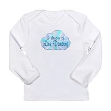 Line Dancing Dreamer Long Sleeve Infant T-Shirt