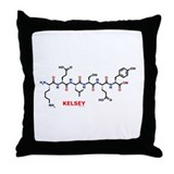 Kelsey molecularshirts.com Throw Pillow