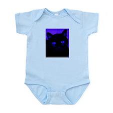Black Cat in Blue Body Suit