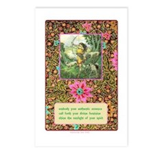 Spring Goddess Essence Postcards (Package Of 8)