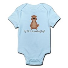 My First Groundhog Day! Body Suit