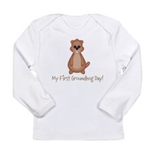 My First Groundhog Day! Long Sleeve T-Shirt