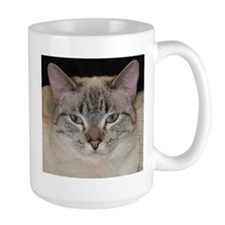 Siamese Cat Head Mug