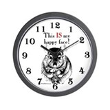 Chinny Happy Wall Clock