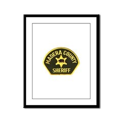 Madera County Sheriff Framed Panel Print