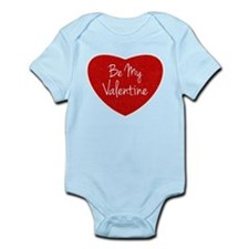 Be My Valentine Conversation Heart Body Suit