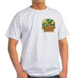 Cajun Bar & Gas Ash Grey T-Shirt/Men