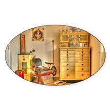 Vintage Dental Office Decal