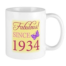 Fabulous Since 1934 Coffee Mug