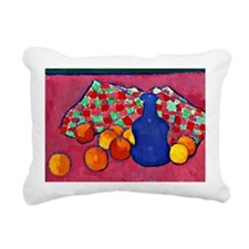 Jawlensky - Blue Vase wi Rectangular Canvas Pillow