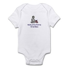 Welcome Home Grandpa Infant Bodysuit