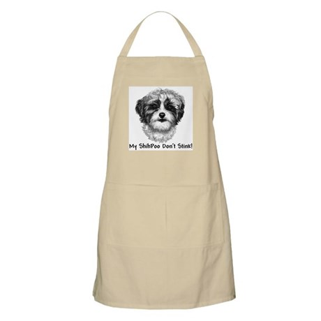 Funny Shih-Poo BBQ Apron