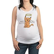 Angel Cat Maternity Tank Top