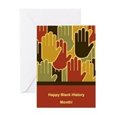 Celebrating Black History Month Greeting Cards