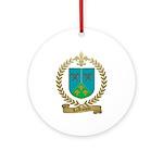 LAROCQUE Family Crest Ornament (Round)