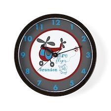Custom Name Future Flyer Wall Clock