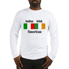 Italian Irish American Long Sleeve T-Shirt