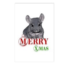 Chin Merry XMas Postcards (Package of 8)