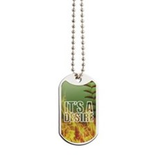 It's A Desire Fastpitch Softball Dog Tags