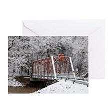 White out red prevails Greeting Card
