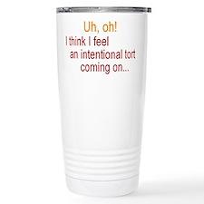 Intentional Tort Travel Mug