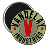 Retro Vandelay Industries Logo Magnet (10 pk)